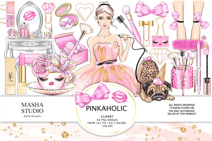 PINKAHOLIC Clipart