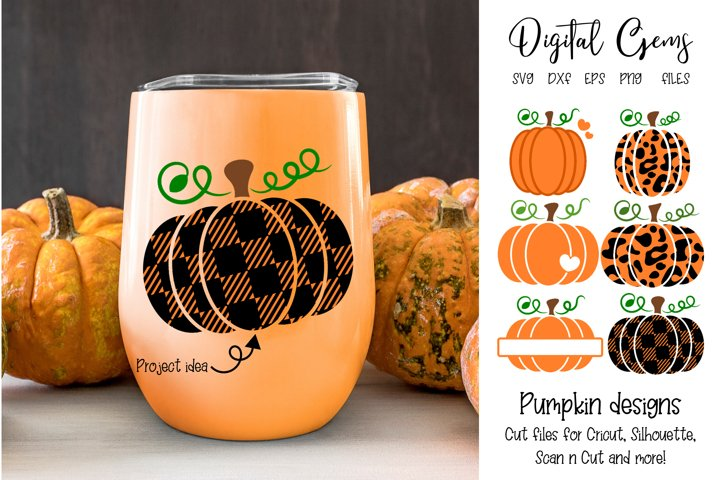 Pumpkin designs SVG / PNG / EPS / DXF files