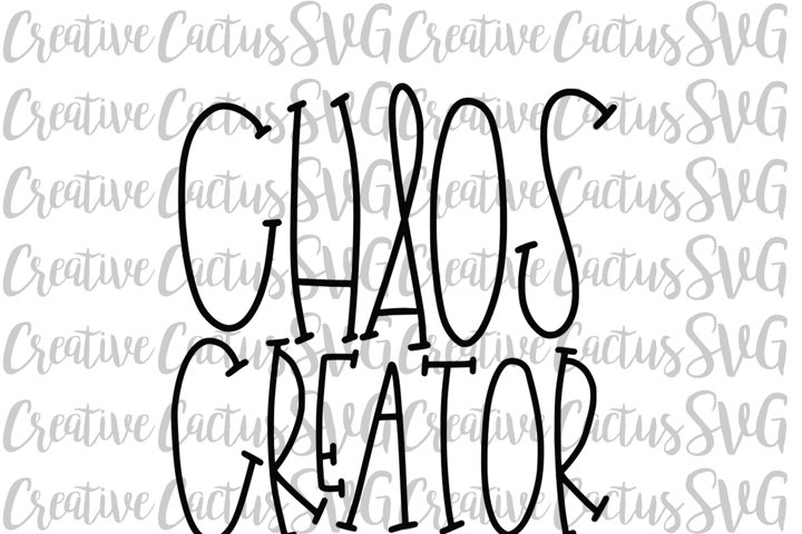 Chaos Creator SVG