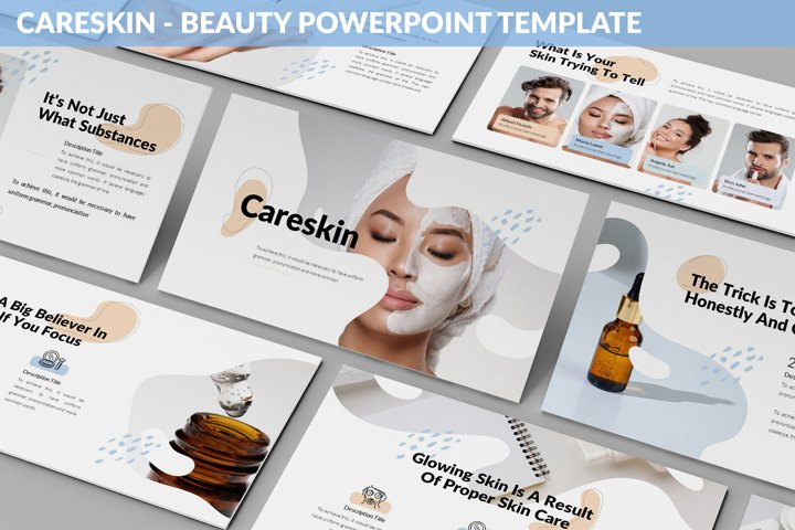 CareSkin - Beauty Powerpoint Template