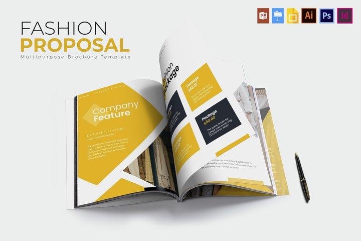 Fashion | Proposal Template