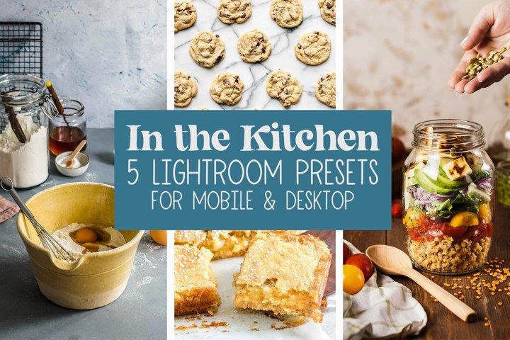 Lightroom Presets, Mobile & Desktop Presets, In the Kitchen