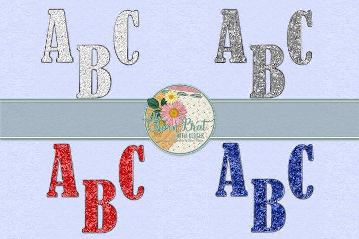 Freedom Alphabet Glitter Bundle
