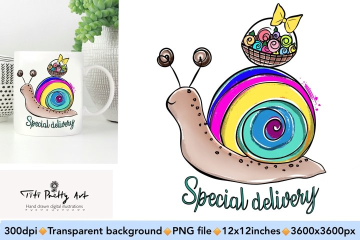 Special Delivery Spring PNG, Spring Is Here Bundle