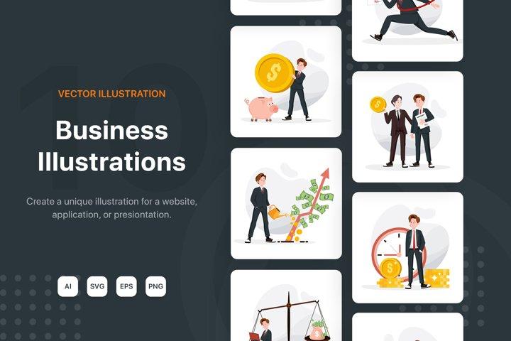 Business & Finance Illustration