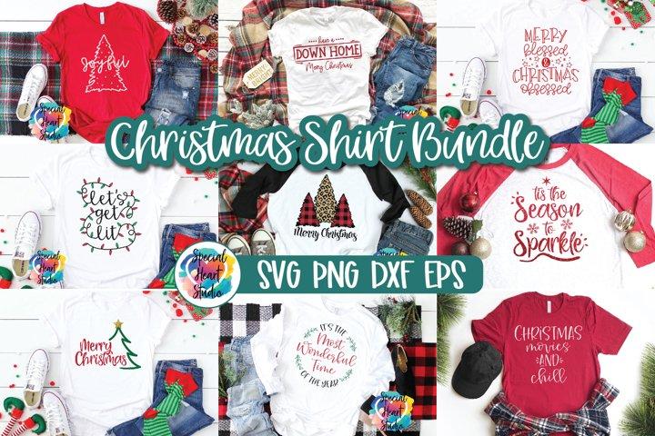 Christmas SVG Bundle - A Christmas Shirt SVG Cut File Bundle