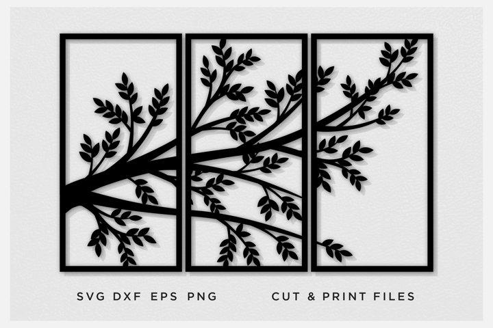 Tree Panels, Room divider, Lattice, Wall Panels, Room Decor,