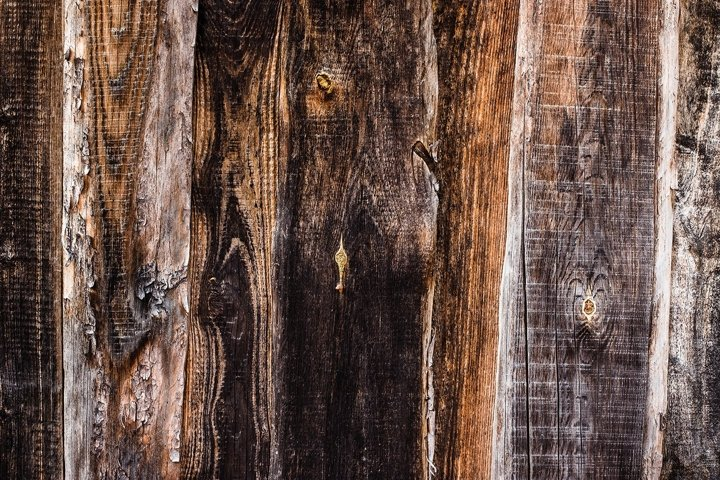 rustic background from old textured wood