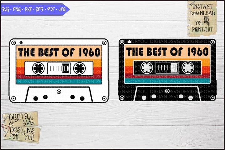 Best of 1960 Vintage cassette, Birthday 1960s