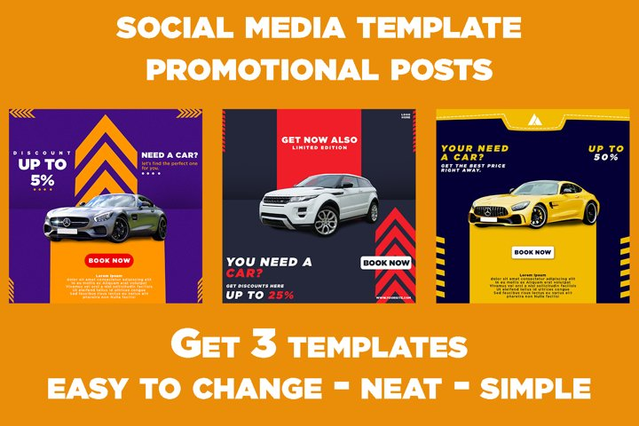 Social Media Promotion Template
