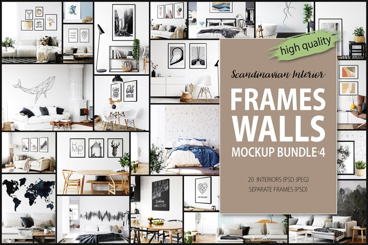 Frames & Walls Scandinavian Bundle-4