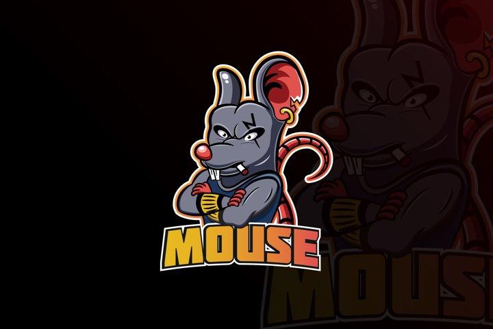 Mouse Mascot & eSports Gaming Logo