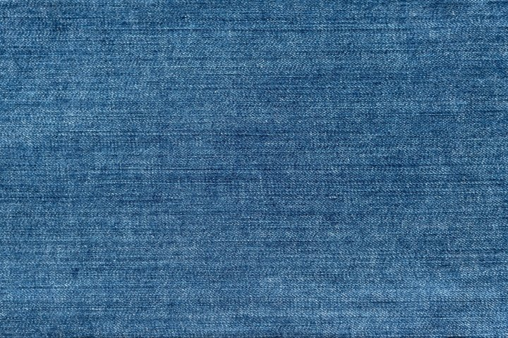 Blue denim background. Texture of jeans fabric. Banner