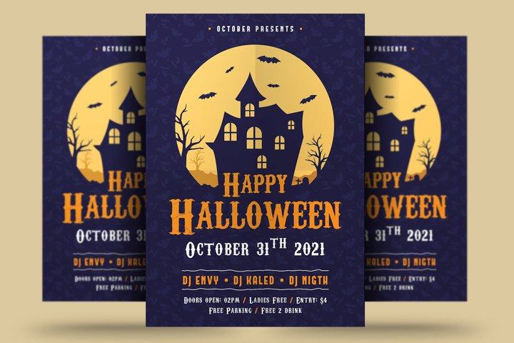 Happy Halloween Flyer
