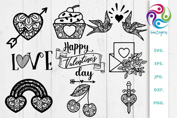 Valentines Bundle Svg Cut File