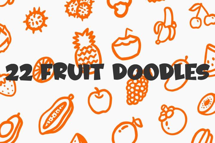 Fruitz - Free Font Of The Week Design12