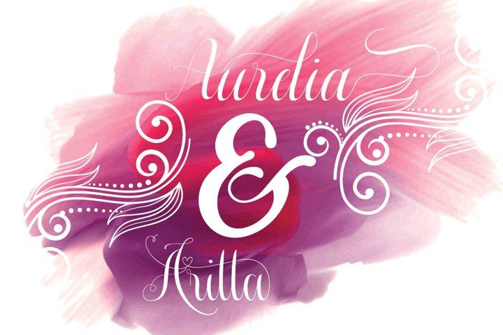 Aurelia font duo