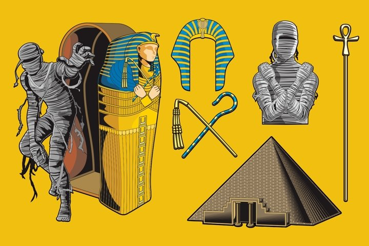 Mummy Vector Pack