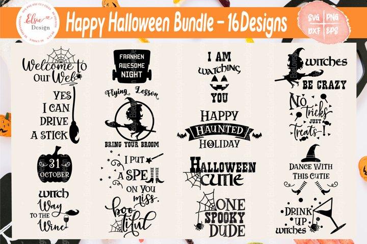 Happy Halloween Bundle SVG Cut Files