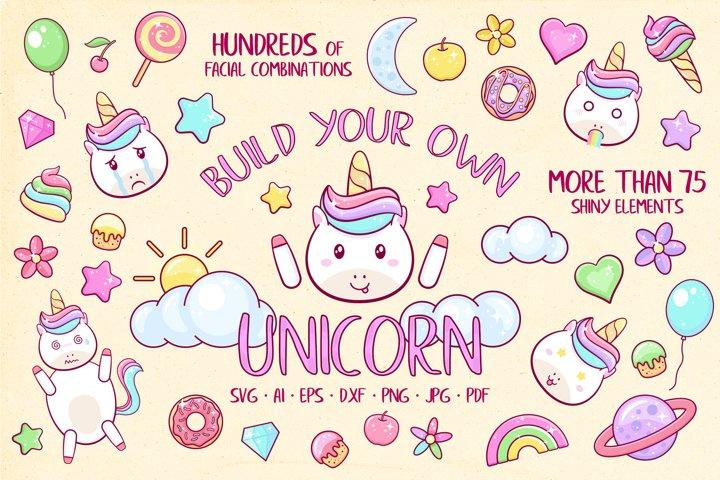 Unicorn Clipart - Scene Creator