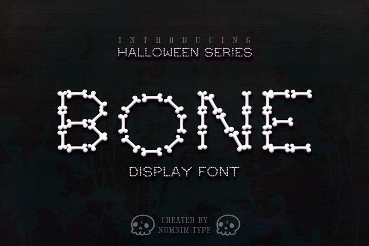 Bone Halloween Font