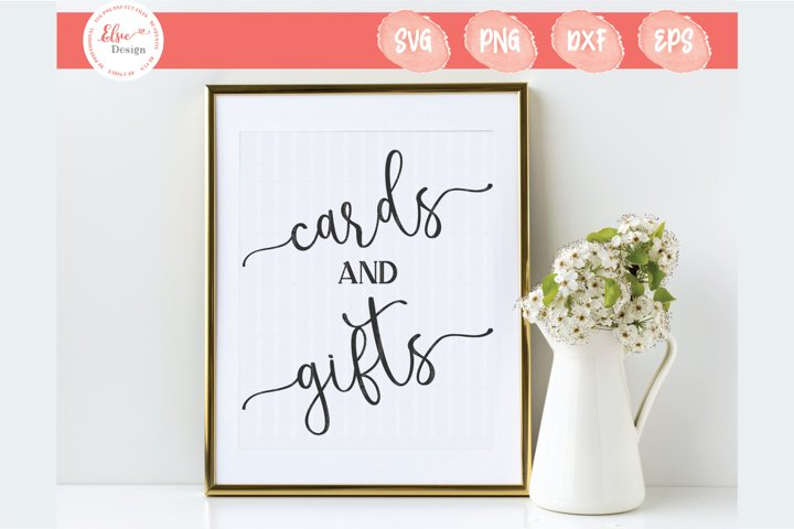 Cards And Gifts SVG Cut Files