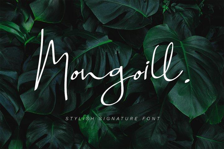 Mongoill - Stylish Signature Font