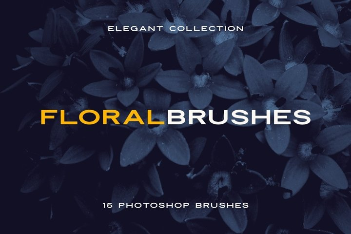 Elegant Floral Brushes