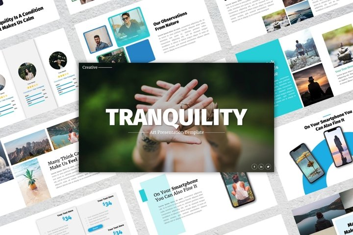 Presentation Templates - Tranquility