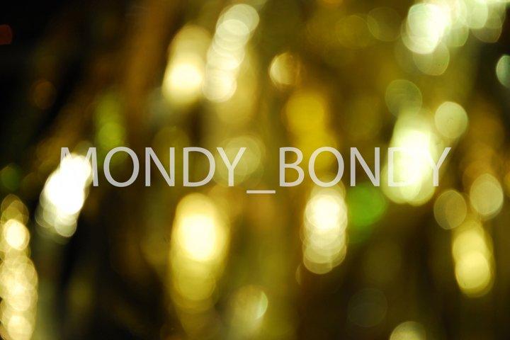 Blurry bokeh circles gold. close-up.