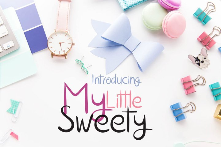 The My Little Sweety Font