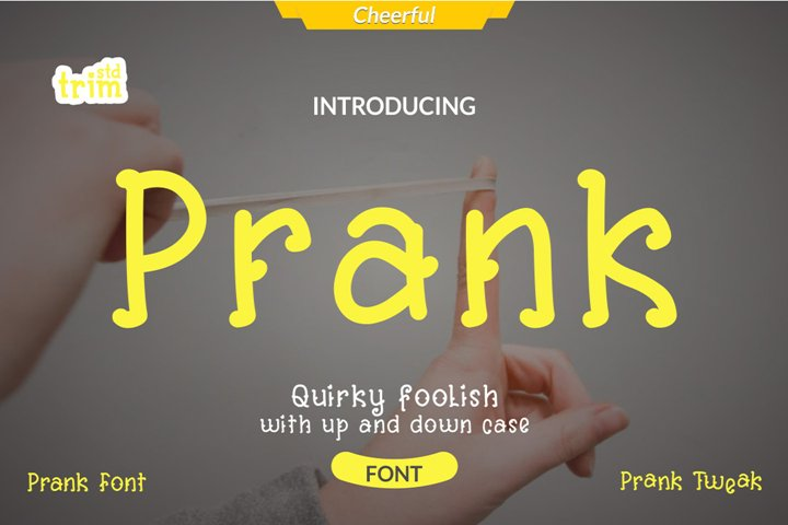 Prank - Quirky Comedy Font