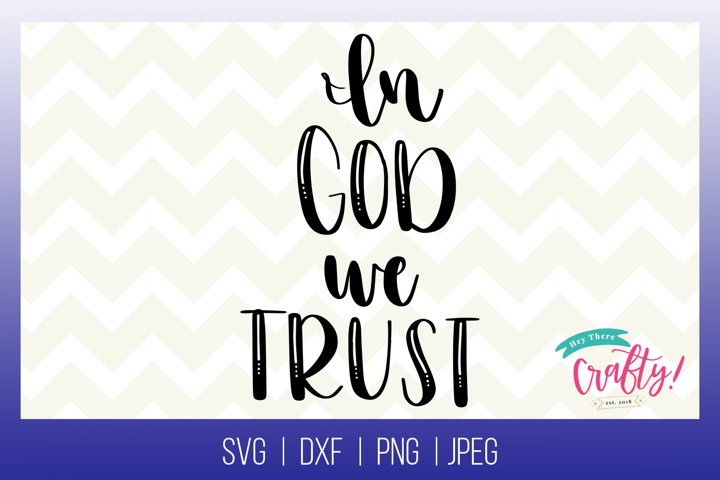 In God we Trust| Digital File