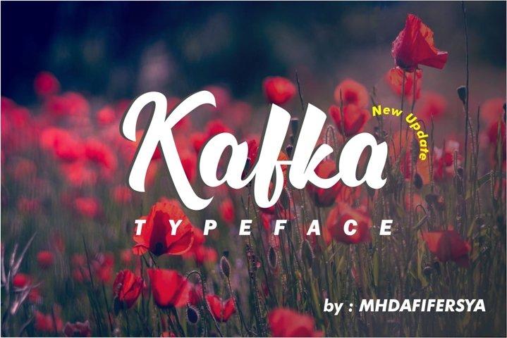 Kafka Typeface Update