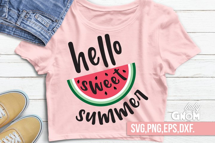 Hello Sweet Summer svg,sweet summer time svg,sweet summer ti