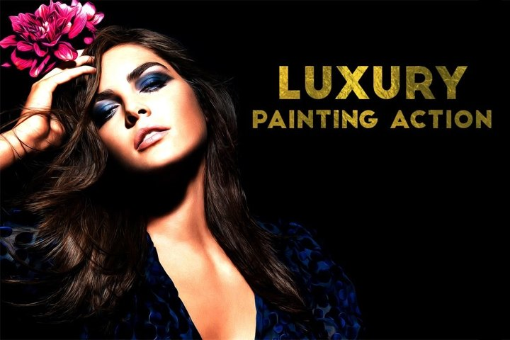 Luxury Painting Photoshop Action