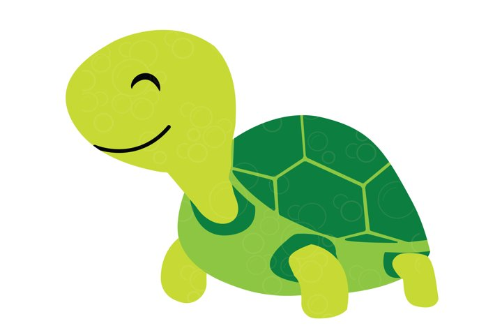 Cute baby turtle SVG, Turtle cutting file for kids