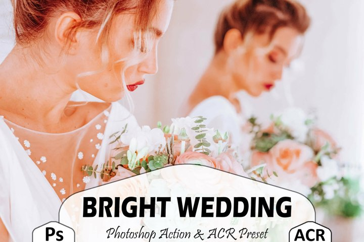 10 Bright Wedding Photoshop Actions And ACR Presets, Spring