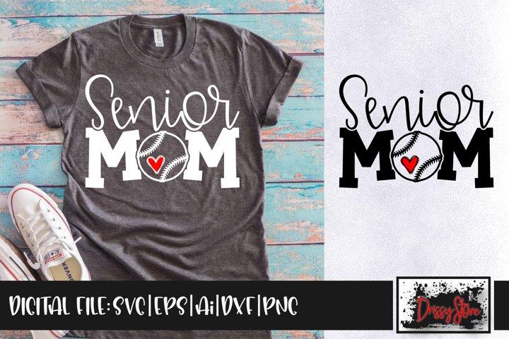 Senior Mom SVG DXF Ai EPS PNG