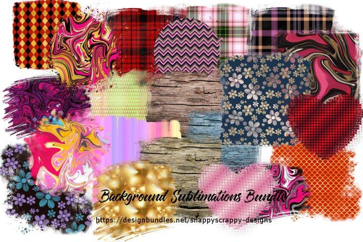 Sublimation Backgrounds Mega Bundle