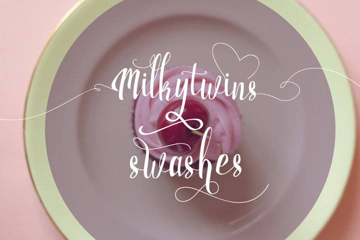 Milkytwins Modern Wave Calligraphy - Free Font of The Week Design6