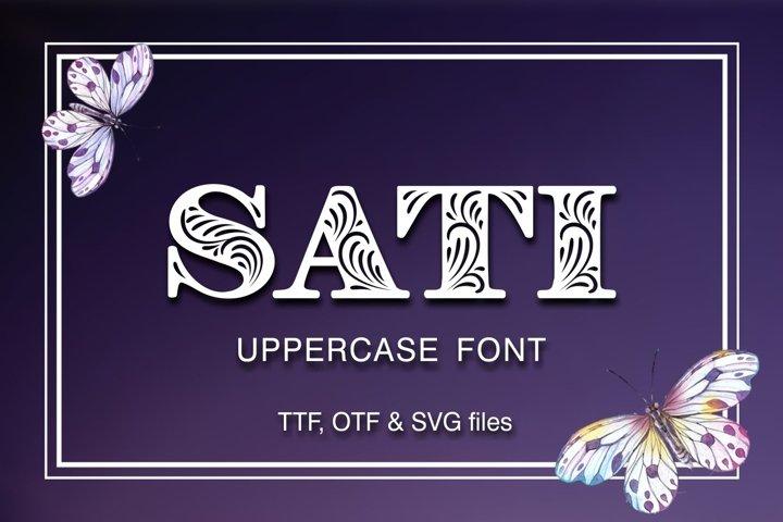 SATI font