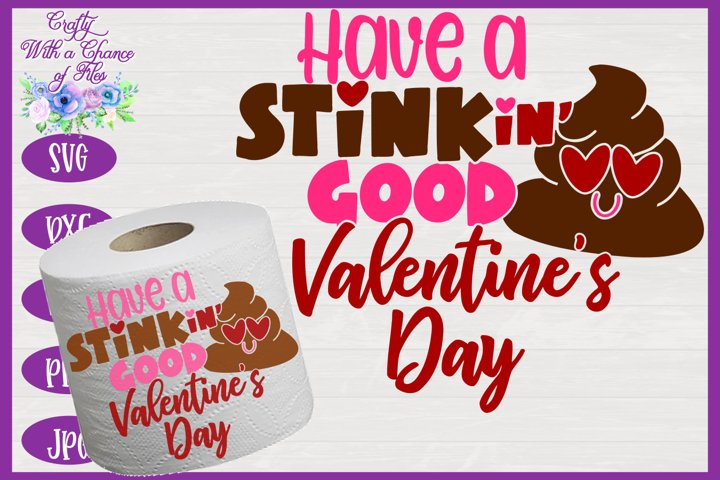Valentines Day Toilet Paper SVG, Valentine SVG, Gag Gift SVG