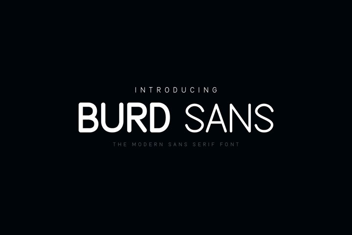 Burd Sans - The Multilingual Font