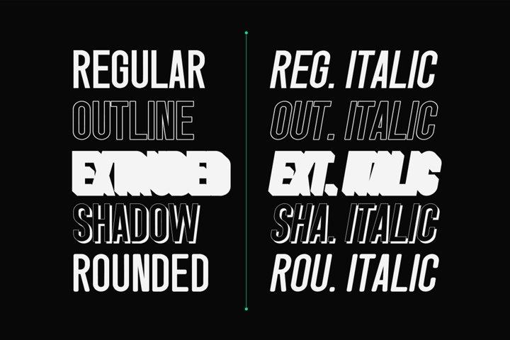 Singo - Sans Display Font example 3