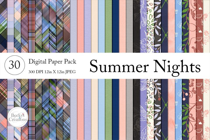 Summer Nights Paper Pack Bundle