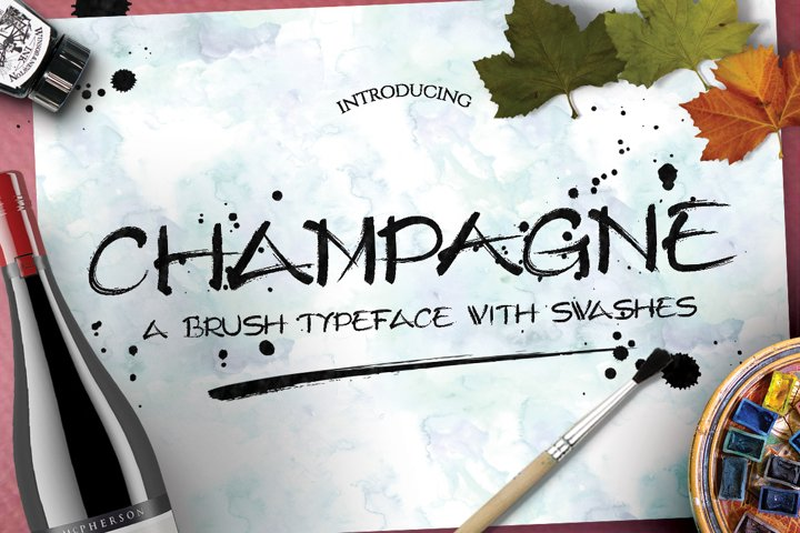 Champagne Typeface
