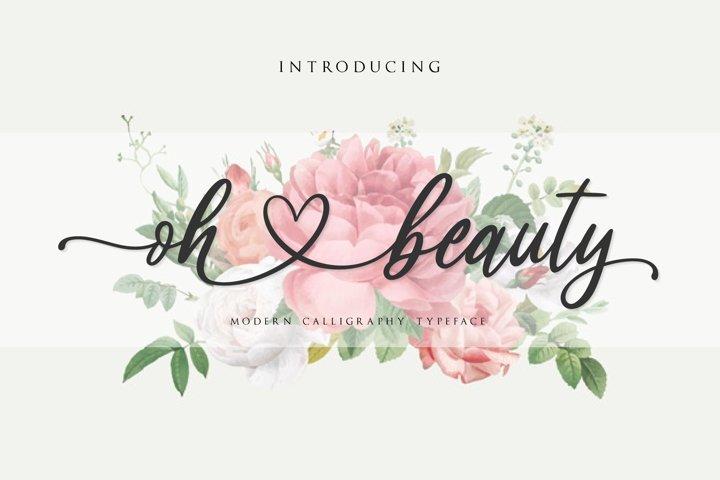 oh beauty script
