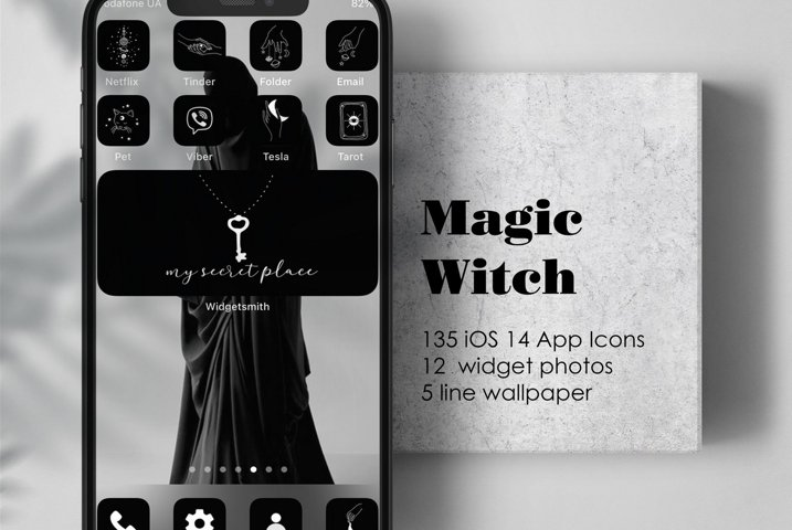 iOS 14 Icons Home Screen MagicWitch