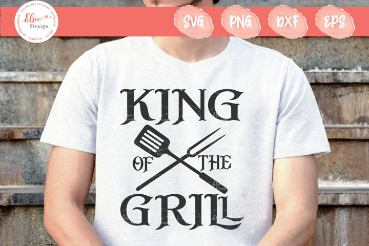 King Of The Grill SVG Cut Files